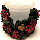 Boyds Bear Paxton's Christmas Blossoms Holiday Flora Votive #27726 NIB FIRST 1E