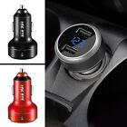 Dual 2 USB 3.1A 12V Car Socket Cigarette Lighter Adapter Charger For iphone MY