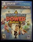 Knowledge Is Power (Sony PlayStation 4, 2017) Brand  New SUPER FAST FREE SHIP!!!