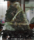 Natural Dushan Jade Old Man Mountain Hill Tree Landscape scenery Shanzi Statue