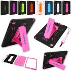 Shockproof Protective Hard Case Cover Stand For Apple iPad 2 3 4 Min 1 2 3 Air 2