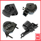 Engine Motor  Trans Mount Set 4PCS for 90 92 Geo Prizm 16L GSI for Auto Trans