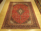 8 x 11.6 Hand Knotted Handmade Antique1930s Persian Oriental Rug _Soft Fine Wool