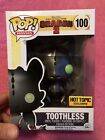 Funko Pop Vinyl Hot Topic Exclusive How Train Your Dragon 2 Metallic Toothless