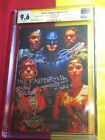 Justice League Of America #15 CGC 9.6 4x Sign & Scribed Gal Gadot,One Of A Kind