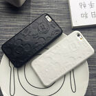 Cute Cartoon Mickey Mouse PU Phone Case For Apple iPhone X 5 5s 6 6plus 7 7p 8