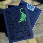 Metallic Green Gatorbacks Playing Cards By David Blainesmall dent on the edge