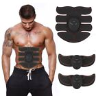 EMS Muscle Training Body Shape Fit Set 8 Pad Fitness Massage Home ABS Trainer 3C