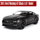 New 2015 Ford Mustang GT Black 118 Diecast Car Model By Maisto 31197