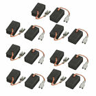 14 Pcs 14 x 9 x 6mm Planer Motor Carbon Brushes for Bosch