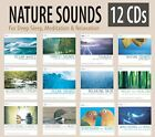 12 CD NATURE SOUNDS: Ocean Waves, Distant Thunder, Forest Sounds