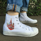 WEN Original High Top Canvas Shoes Design Russia Saint Basils Cathedral Sneaker