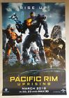 PACIFIC RIM UPRISING ORIGINAL DOUBLE SIDED US MOVIE DS POSTER 27X40 2018 #2