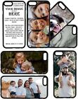 PERSONALISED CUSTOM PRINTED PHOTO PICTURE PHONE CASE COVER for iPhone