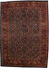 Great Shape Allover Design Navy Mahal Persian Rug Oriental Area Carpet 10X13
