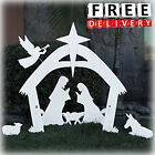 Outdoor Nativity Scene Christmas Large Yard Decoration Set Lawn Decor Figures