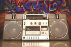 Fisher PH-410 BLUETOOTH Boombox with Cassette Player, Fm/Am Radio, 3.5mm Jack