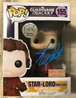 Stan Lee Signed Autographed Star Lord Funko Pop Marvel Guardians JSA COA