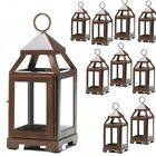 Lot 10 Copper Bronze 875 Small Lantern Candle Holder Wedding Centerpieces