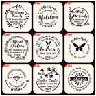 Custom Rubber Stamp Self Inking Business Family Return Address Wedding Stamper