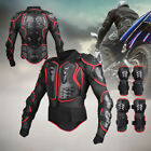 Motorcycle Full Body Armor Jacket Motocross Racing Spine Chest Protector Gear BN