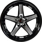 4 GWG DRIFT 20 inch Black Machined Rims fits LAND ROVER DISCOVERY 46 S 2003 04