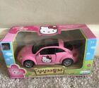 Hello Kitty Beetle Car DIE CAST Offcially licensed by Volkswagen New In Box