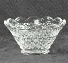 RARE - Anchor Hocking Wexford Scalloped Rim Fruit Dessert Bowl Candy Dish
