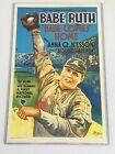 1927 BABE RUTH COMES HOME BASEBALL MOVIE POSTER VINTAGE GRAPHICS