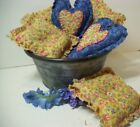 Handmade Bowl Fillers, Fabric Hearts, Country Decor, Farmhouse, Home Decor, Gift