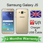 Unlocked Samsung Galaxy J5 J500 Android Mobile Phone 16GB Gold
