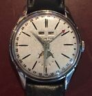 Vintage Fortis Moon Triple Date Watch with Month, Day & Date - Needs Service