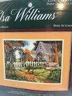 Elsa Williams Autumn Breeze Cottage w Chickens Out Front 02149 Cross Stitch Kit