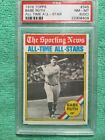 1976 TOPPS BABE RUTH ALL TIME-STAR PSA 8 OC NM MINT