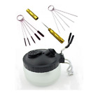 4 Pc Airbrush Cleaning Kit Cleaner Supplies Brushes Airbrush Cleaning Pot Holder