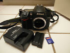 NEAR MINT RARELY USED NIKON D7000 162MP DIGITAL SLR CAMERA BODY BEST PRICE