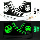 The Nightmare Before Christmas Casual Canvas Shoes Skull Shoe Sneakers