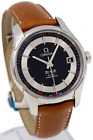 Omega De Ville Hour Vision Co-Axial 431.33.41.21.01.001 - 41mm Brown Leather