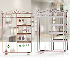 Wall Mount Jewelry Holder, Jewelry Stand Organizer for Earring Necklace Brecelet