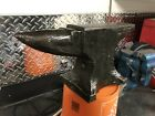 Forged Steel Anvil - 58.5lb Possible early Nash or Hay Budden?  Navy