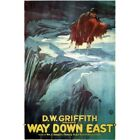 Way Down East 1920 DW Griffith Vintage Repro Movie Poster
