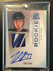 2009-10 UD The Cup VICTOR HEDMAN Tampa Lightning Autograph Patch Rookie 180 249