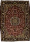 Traditional Handmade S Antique Najafabad Persian Rug Oriental Area Carpet 9X12