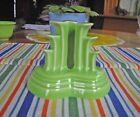 Fiesta RETIRED CHARTREUSE PYRAMID Candle Holder ~ Single ~