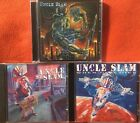 Uncle Slam- Say Uncle, Will Work For Food, When God Dies (3 CD Lot) Crumbsuckers