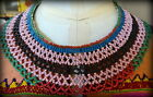 Vintage Xhosa Beaded Collar Necklace South African mid 20th century