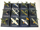 World War II Fighter Diecast Metal Collection 12 Airplanes by NewRay