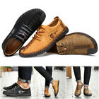 YIRUIYA Mens Casual Retro Oxford Leather Shoes Brogue Lace up Sneakers shoes