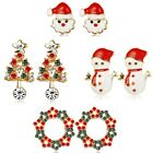 Chritmas Gifts 4-6 Pairs Stud Earrings Set for Girls Teens Women