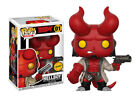 Hellboy CHASE with Jacket Funko Pop! Comics #01 NEW